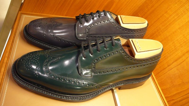 Churchs colored wingtips