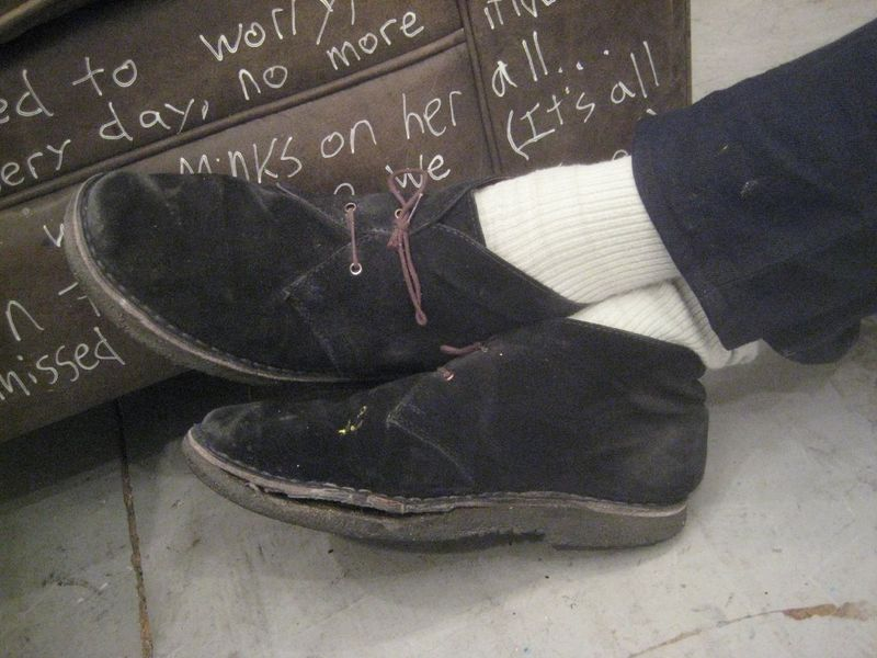 Josh safdies desert boots