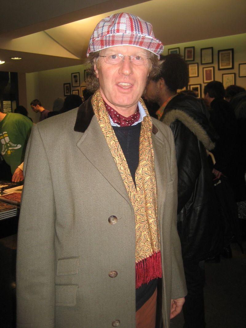 Silk ascot and scarf new era paris