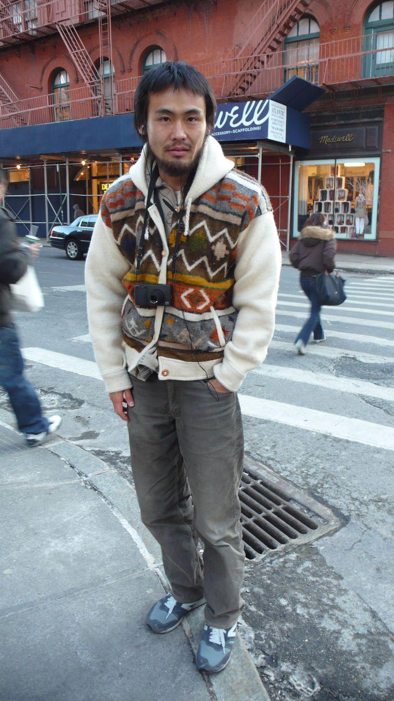 Knit hoodie1