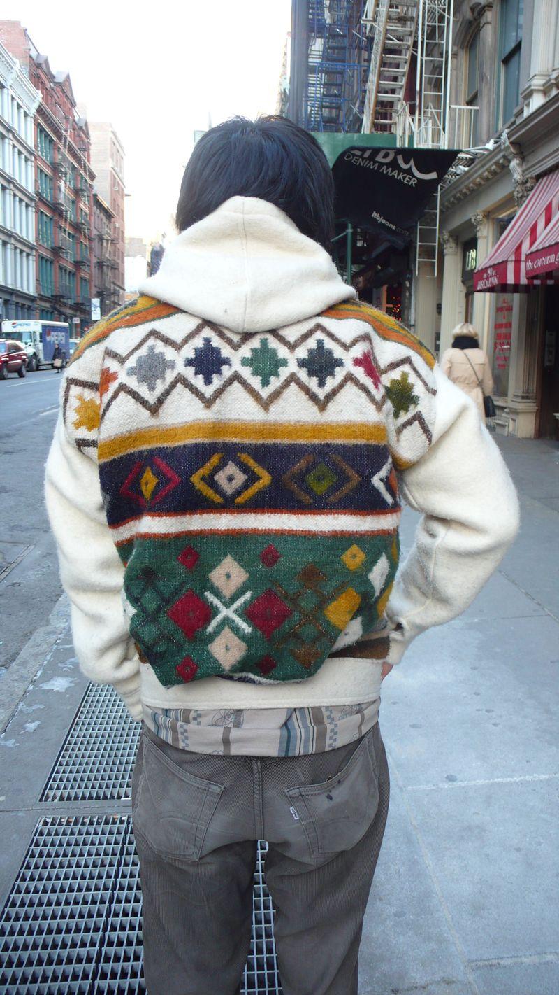 Knit hoodie2