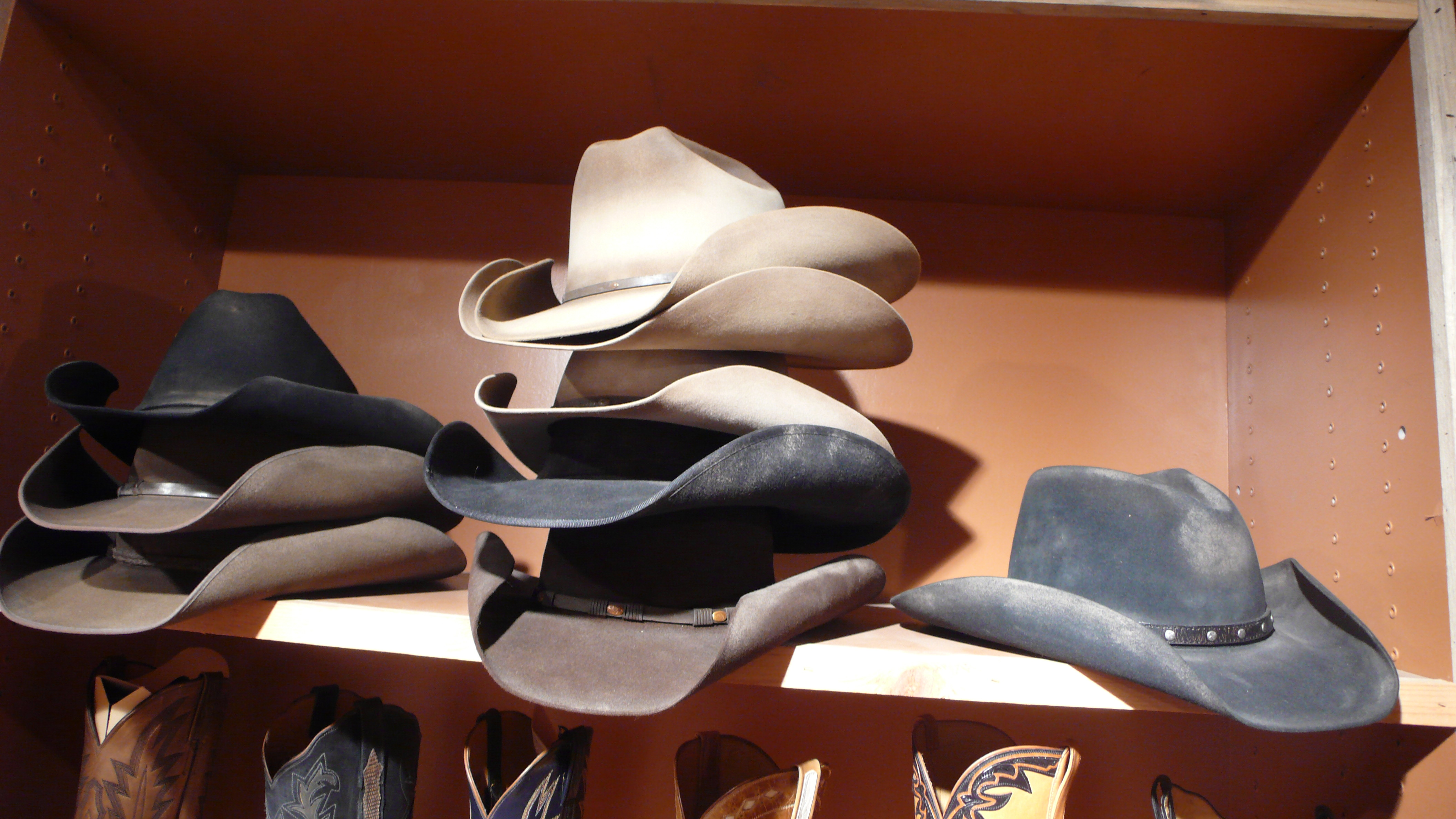 c28ba09d13f Distressed Stetson Hats at Burns Cowboy Shop