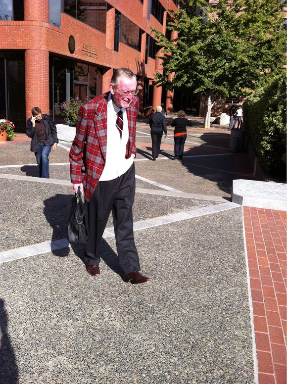 Plaid Blazer  In The Plaza